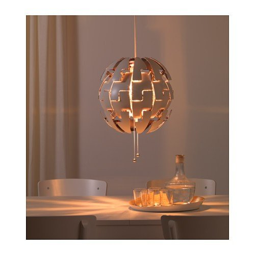 Ikea Ps 2014 Pendant Lamp Like The Death Star White Silver: Fixtures For Hue Lights